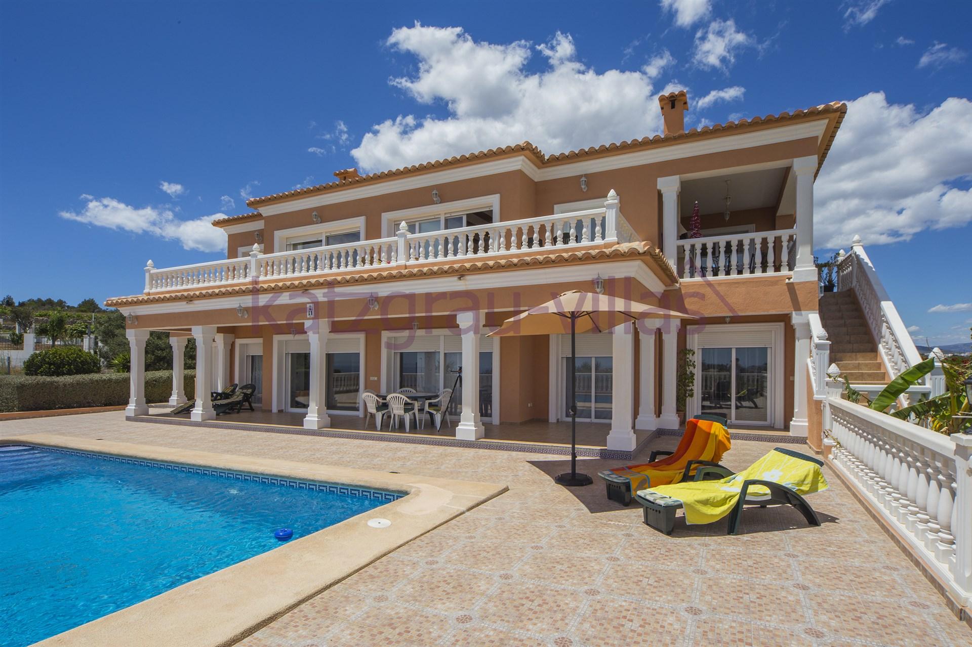 Villa en alquiler en moraira alicante casa baidal alquiler de villas en moraira costa blanca - Apartamentos alicante alquiler ...
